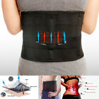 Breathable Waist Back Support Pain Relief Lower Lumbar Posture Brace Belt Strap