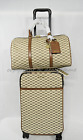 Michael Kors Studio 4 Wheeled Carry-On Suitcase, Duffle Bag OR Eye Mask in Brown
