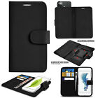 Nokia Microsoft Lumia Mobile Phone Leather Wallet Kickstand Universal Case Cover