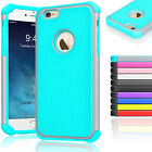 For iPhone 6 6s 6plus 6s plus Shockproof Hybrid Rubber Protective Case Cover