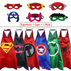 ballerina 1st birthday party ideas - Superhero Cape&Masks Dress Up Costumes for Kids Birthday Party Favors and ideas