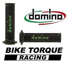 Bimota 1100 Furano  Black & Green Domino RR Diamond Handle Bar Grips