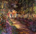 Pathway in Monet's Garden at Giverny (Classic French Impressionist Art Print)