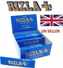 3 6 25 50 GENUINE RIZLA  Blue King Size  SLIM Rolling Papers Cigarette Roll Ups