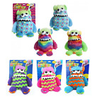 """Childrens 9"""" Plush Soft Toy Worry Monster - Various Colours"""