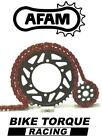 KTM 400 LC4 Enduro 94-00 AFAM Upgrade Red Chain And Sprocket Kit