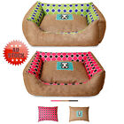 Soft Warm Comfy Dog Puppy Cat Teddy Pet Winter Bed slippers House Dot
