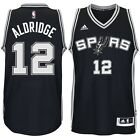New ADIDAS NBA SWINGMAN JERSEY San Antonio Spurs 12 Aldridge 7470 304 MSRP 110