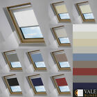 BLACKOUT SKYLIGHT BLINDS FOR FAKRO WINDOWS IN 10 COLOURS VALE MODEL