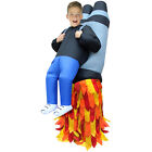 Kids Inflatable Blow Up Pick Me Up Carry Me Scary Halloween Costume 8 Styles