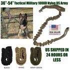 Dog Leash K9 Police Tactical Training 1000d nylon Bungee US Military Canine USA