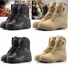 Military Army Cadet SecurityTactical Combat Boots Hiking Hunting Leather Shoes