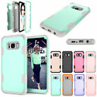 For Samsung Galaxy S8 / S8+ Plus Phone Case Heavy Duty Tough Hard Rubber Cover