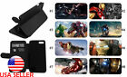 Ironman Marvel Phone case Movie IPhone LG Samsung S9 Leather Wallet Stand NEW