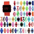 Fashion Silicone Rubber Jelly Ion Sports Bracelet Wrist Bangle Watch Wholesale