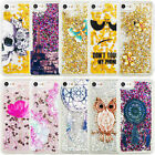 Liquid Glitter TPU Moving Quicksand Bling Soft Gel Case Cover iPhone 4 4S 5S 6S