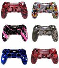 Front  Back Replacement Playstation 4 Faceplate Housing Shell for PS4 Controller