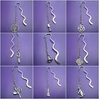 1 Tibetan silver alloy Bookmark wiccan Wicca Pagan  9 designs approx -  8. 5 cm