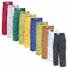 Trespass Marvelous Kids Ski Pants Padded Winter Waterproof Skiing Salopettes