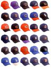 New MLB Adult Cotton Twill Raised Replica Baseball Hat 275 -Select- Team Below