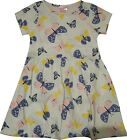 Girls E-vie Angel Ex Chain store Butterfly Print Cotton Dress Age 2 3 5 6 Years
