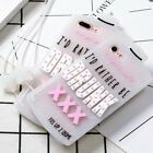 3D Cute Glitter Drunk Cartoon Soft Silicone Back Case Cover For iPhone 6S 7 Plus