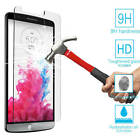 New 9H Premium Real Tempered Glass Screen Protector Film Guard For LG Cell Phone