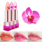 BEAUTY JELLY FLOWER LIPSTICK COLOR CHANGING MOISTURIZING LIP GLOSS BALM GLARING
