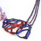 Embroidered Cowboy Cloth Traction Rope Harness Pet Dog-HOT