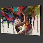 LARGE Canvas Print Room Wall Art Pictures Decor Abstract Couple Painting Framed