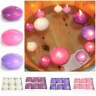 Pack of 6 LARGE Round Floating Candles