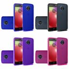 For Motorola Moto E4 Slim Soft Flexible TPU Protective Case Cover