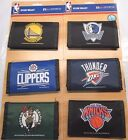 NBA Printed Tri-Fold Nylon Wallet RICO Industries Select Team From List Below on eBay