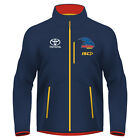 Adelaide Crows AFL 2017 Mens Wet Weather Jacket BNWT Footy Clothing
