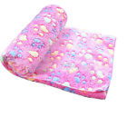 Compact 3 Colors Warm Dog Bed Mat Cover Dogs Cats Pet Blanket Fleece Towel Paw
