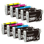 Remanufactured 220 XL Black & Color Ink Cartridges For WorkForce WF-2630 WF-2750