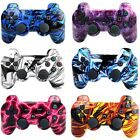 Camouflage Usb Wireless Controller Game Remote Controller Gamepad For Ps3