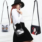 Women's Girls Cartoon PU Leather Small Cross Body Shoulder Bag Messenger Clutch