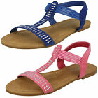 Wholesale Girls Flat Summer Sandals 16 Pairs Sizes 10-2  H0245