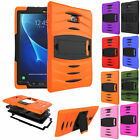 Hybrid Rugged Shockproof Hard Stand Case Armor Cover For Samsung Galaxy Tablet