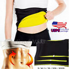 Women Belly Fat Burner Neoprene Waist Trainer Cincher Workout Body Shaper Corset