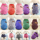 Pet Sweater Dog Jacket Winter Warmer Clothes Puppy Cat Knit Sweater Coat Apparel