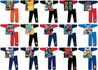 Boys Kids Official Character Pyjamas PJs Set Nightwear Age Size 12 Mths - 12 Yrs