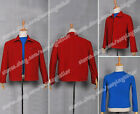 Superman Hero Smallville Clark Kent Red Jacket Cosplay Outwear Party Costume