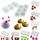 Silicone 3D Fondant DIY Cake Baking Mould Dessert Muffin Chocolate Pastry Mold