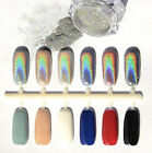 Holographic Nails Effects Holo Rainbow Unicorn Effect 2g Powder Brush Included