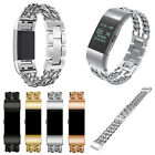 For Fitbit Charge 2 Stylish Stainless Steel Strap Replacement Wrist Watch Band