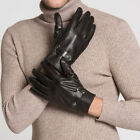 62056 Men's Real Leather Winter Driving Outdoor Motorcycle Everyday Ski Gloves