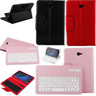 New Bluetooth Keyboard Leather Case Cover For Samsung Galaxy Tab A series Tablet