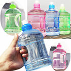 1L Big Large Water Bottles BPA Free Sport Gym Leakproof Drink Cup Kettle Outdoor